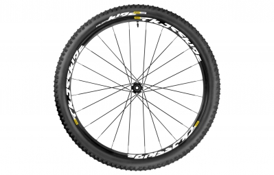 mavic crossride light roue avant 29 axe 15 mm pneu quest 2 25