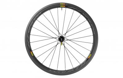mavic 2016 roue arriere ksyrium pro carbone sl disc shimano sram pneu yksion pro 25 mm 6 trous