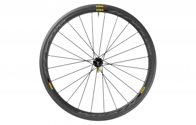 Mavic roue arriere ksyrium pro carbone sl disc shimano sram pneu yksion pro 25 mm 6