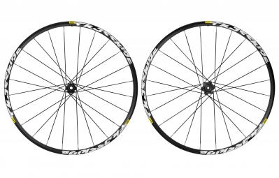 MAVIC 2016 CROSSRIDE Pair of Wheel 27.5'' 6TR 12x135mm