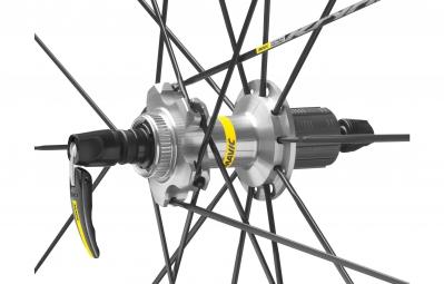 mavic 2016 roue arriere ksyrium pro disc campagnolo pneus yksion pro 25mm 6 trous