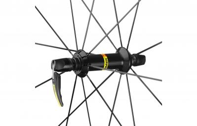 mavic 2016 roue avant ksyrium pro carbone sl noir boyau yksion pro 25mm