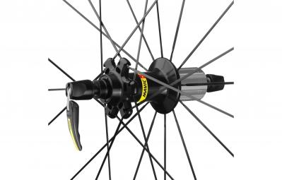 mavic 2016 roue arriere ksyrium pro carbone sl pneu yksion pro 25 mm shimano sram
