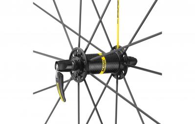 mavic 2016 roue avant ksyrium pro noir pneu yksion pro 25 mm