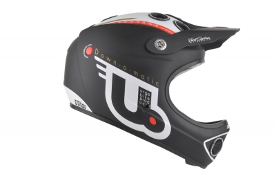 casque integral urge down o matic 2016 noir blanc s m 53 57 cm
