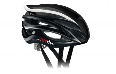 casque zero rh 2in1 noir blanc brillant 58 62 cm