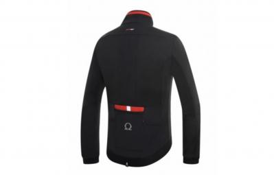 ZERO RH veste mega Lite Soft Shell noir rouge