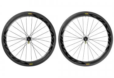 mavic 2016 paire de roues cosmic pro carbone sl disc boyaux sram shimano centerlock