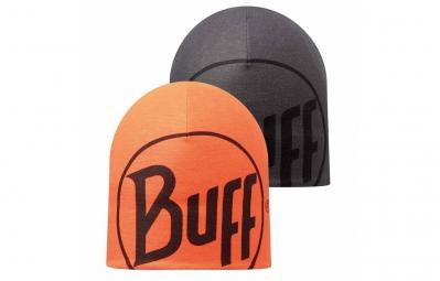 BUFF Bonnet Réversible LOGO Orange Gris