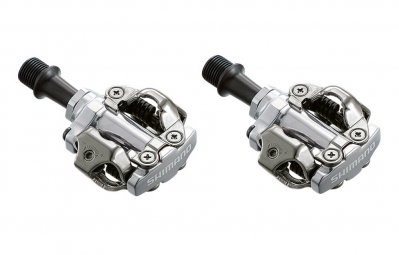 Shimano PD-M540 Clipless SPD MTB Pedals Silver