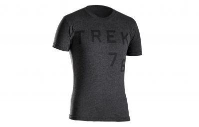 bontrager t shirt trek 76 heather noir xl