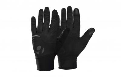 Bontrager paire de gants circuit windshell noir s