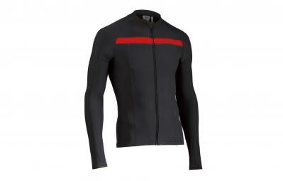 northwave maillot manches longues celsius noir rouge xxl