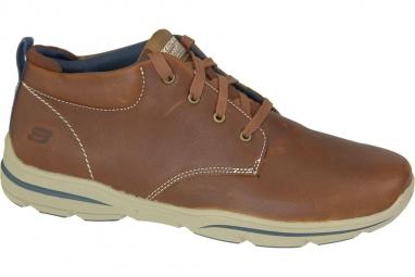 Skechers Harper Melden 64857-LUG Homme Chaussures de randonnée Brun