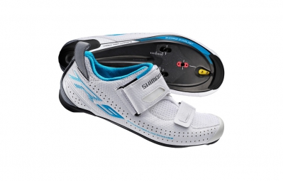 chaussures triathlon femme shimano tr9 blanc 38