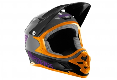 Casque intégral BLUEGRASS INTOX Gris Orange