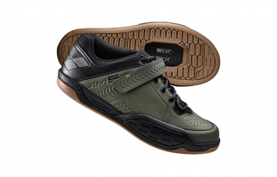 chaussures vtt shimano am5 vert kaki 45
