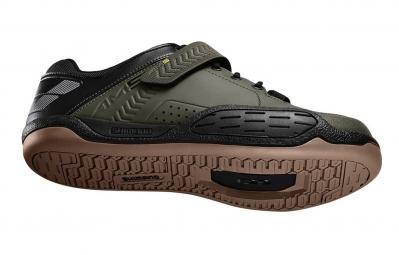 chaussures vtt shimano am5 2016 vert kaki 45