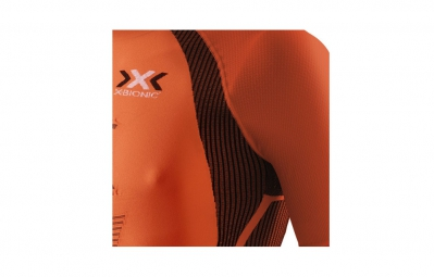 X-BIONIC Maillot THE TRICK Running Orange/Noir