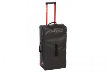CASTELLI Rolling Travel Bag XL Black