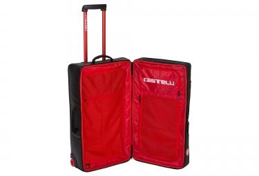 castelli valise a roulettes rolling travel bag xl noir