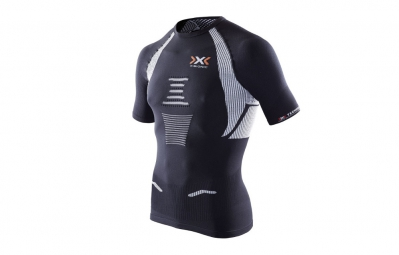X-BIONIC Maillot THE TRICK Running Noir/Blanc