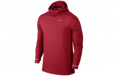nike maillot dri fit element rouge homme xl