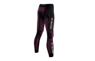 X-BIONIC Collant Long THE TRICK Running Noir/Rose Femme