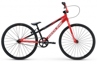 redline bmx complet proline junior cruiser rouge noir