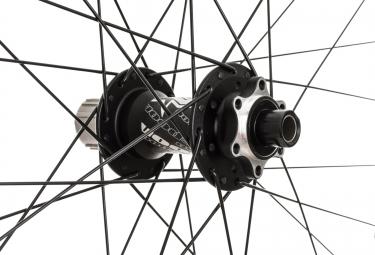 SPANK Paire de roues SPIKE 27.5'' Race Axes 20mm et 157x12mm Noir