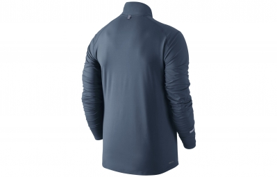 NIKE Maillot DRI-FIT ELEMENT Bleu Homme