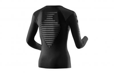 x bionic t shirt manches longues speed running noir femme m