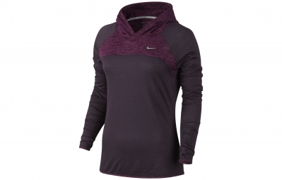 NIKE Maillot DRI-FIT WOOL Violet Femme