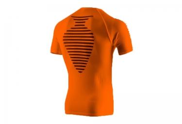 x bionic t shirt speed running orange s