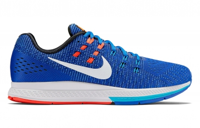 Chaussures de Running Nike AIR ZOOM STRUCTURE 19 Bleu