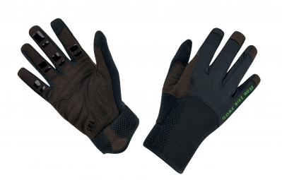 GORE BIKE WEAR Gants Longs POWER TRAIL Noir