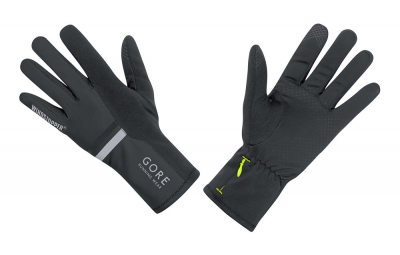 GORE RUNNING WEAR Gants MYTHOS 2.0 Windstopper Noir