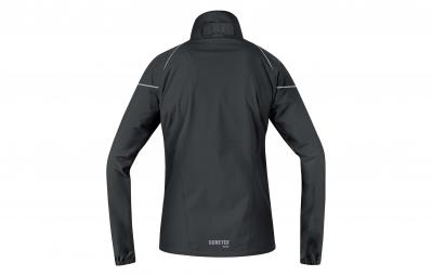 gore running wear veste essential gore tex active lady noir l