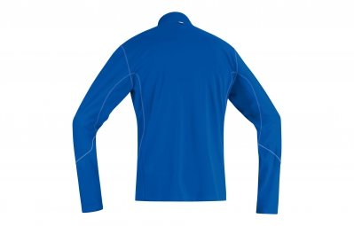 GORE RUNNING WEAR Maillot Essential Manches Longues Bleu