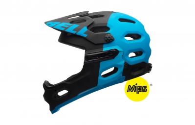 BELL Casque SUPER 2R MIPS Noir/Bleu