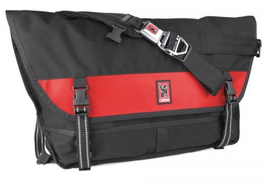 Chrome sac metropolis noir rouge