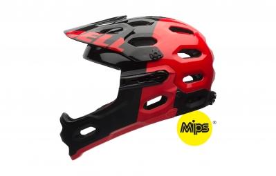 Bell Super 2R MIPS Helmet - Black Red 2016