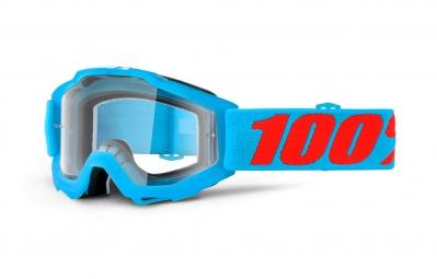 100% Masque ACCURI ACIDULOUS Bleu Ecran Transparent
