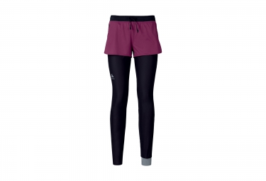 Odlo collant logic zeroweight noir magenta m
