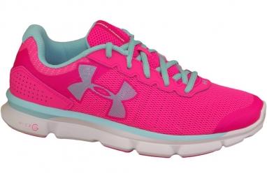 Under armour micro g speed swift 1266243 963 femme chaussures de running rose 36