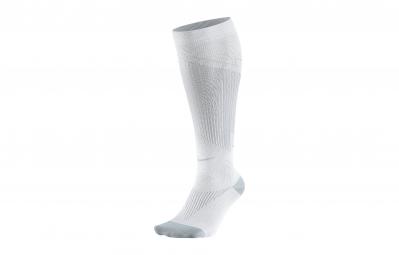 nike chaussettes de compression elite graduated otc blanc 38 40