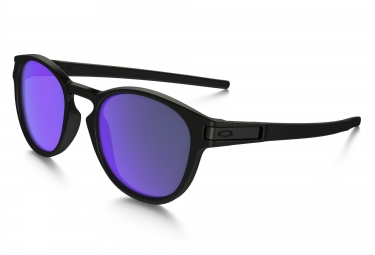 oakley lunettes latch black purple iridium ref oo9265 06