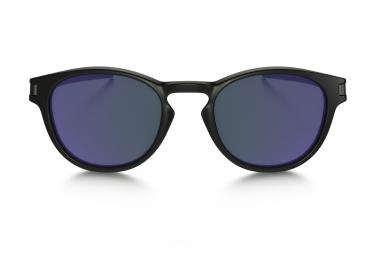 OAKLEY Lunettes LATCH Black/Purple Iridium Réf OO9265-06