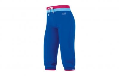 Pantalone 3/4 GORE RUNNING WEAR Sunlight Lady Slim Blu