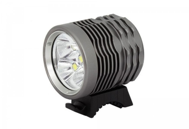 MASSI SHAR Front Bicycle light 5000 Lumens Grey